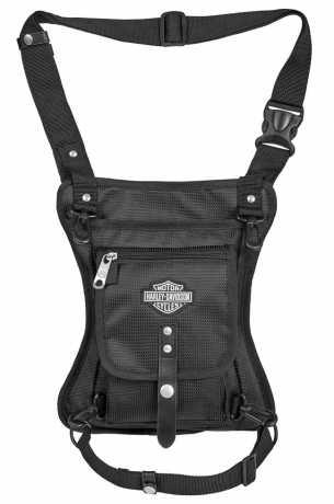 H-D Motorclothes Harley Davidson Side Slinger Tasche schwarz  - 98222