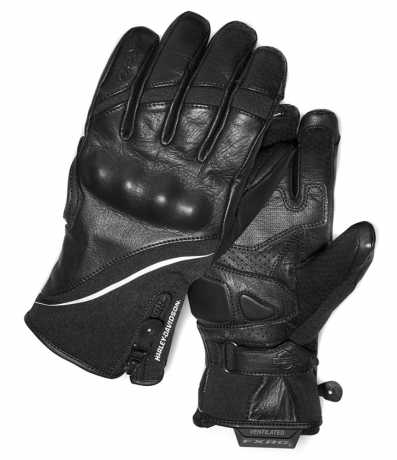 H-D Motorclothes Harley-Davidson women´s Gauntlet Gloves FXRG Dual-Chamber L - 98272-19EW/000L