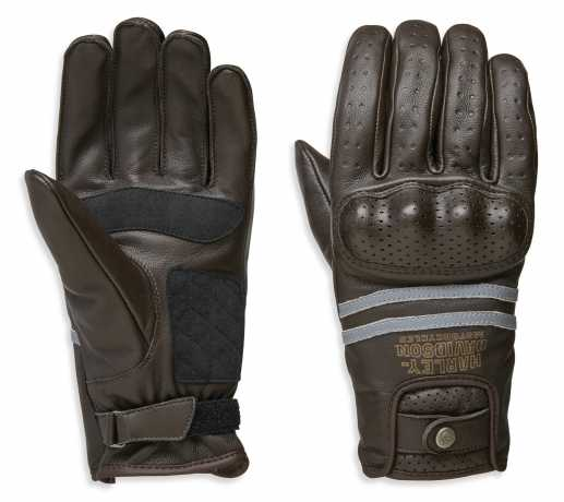 H-D Motorclothes Harley-Davidson Gloves Freemont EC brown  - 98274-19EM