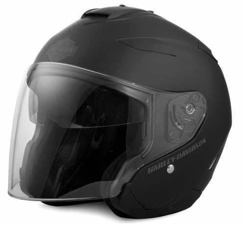 H-D Motorclothes Harley-Davidson Helm Maywood H27 3/4, matt schwarz  - 98347-17EX