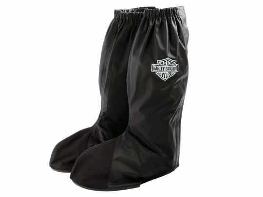 H-D Motorclothes Harley-Davidson Rain Gaiter Regenüberschuhe, schwarz L - 98349-07V/000L
