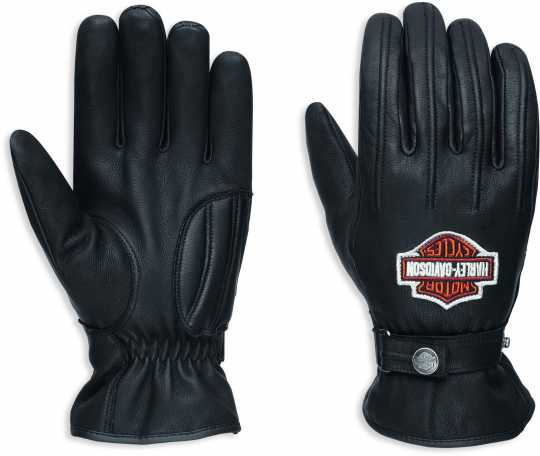 H-D Motorclothes Harley-Davidson Enthusiast Leather Gloves EC L - 98356-17EM/000L