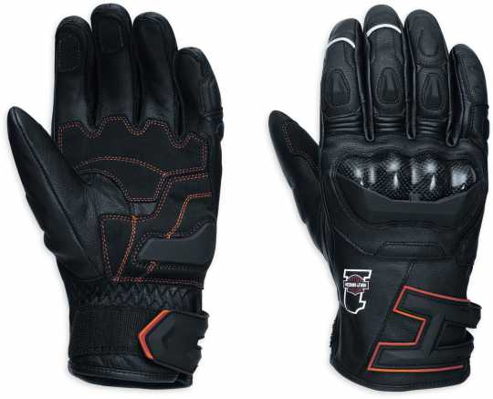 H-D Motorclothes Harley-Davidson Endurance Leather Gloves EC  - 98358-17EM