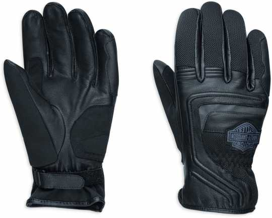 H-D Motorclothes Harley-Davidson Leather & Mesh Gloves Bar & Shield EC M - 98362-17EM/000M