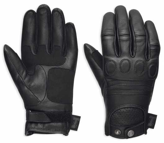 H-D Motorclothes Harley-Davidson women´s #1 Skull Leather Gloves EC  - 98375-17EW