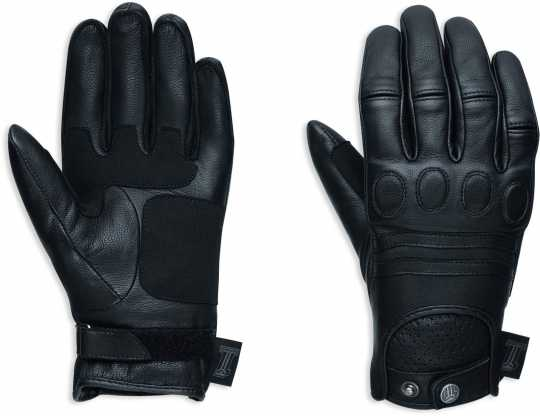 H-D Motorclothes Harley-Davidson women´s #1 Skull Leather Gloves EC M - 98375-17EW/000M