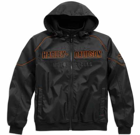 H-D Motorclothes Harley-Davidson Soft Shell Jacket Idyll Performance 4XL - 98555-15VM/042L