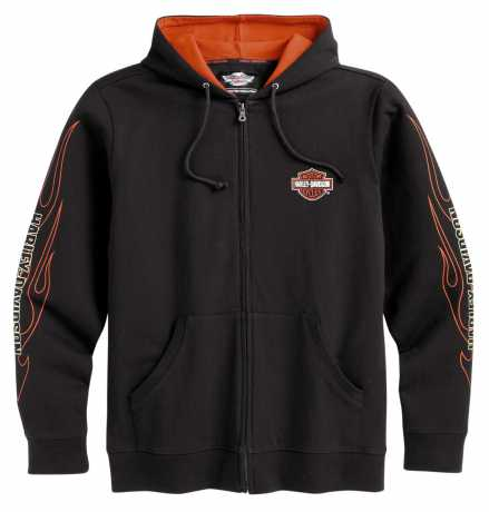 Harley-Davidson Flames Hooded Sweatshirt