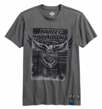 H-D Motorclothes Harley-Davidson T-Shirt 115th Anniversary Eagle, grau  - 99001-18VM