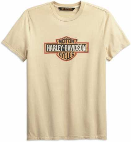 H-D Motorclothes Harley-Davidson T-Shirt Crackle Bar & Shield creme weiß  - 99001-19VM