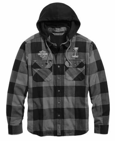 H-D Motorclothes Harley-Davidson Lined Hooded Shirt Jacket  - 99007-20VM