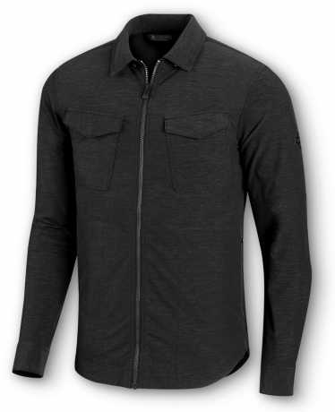H-D Motorclothes Harley-Davidson Zip Shirt Stretch black  - 99014-20VM