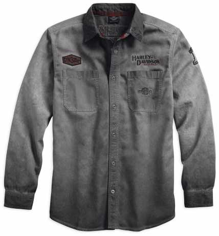 H-D Motorclothes Harley-Davidson Iron Block Long Sleeve Shirt  - 99020-17VM