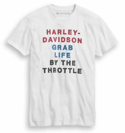 H-D Motorclothes Harley-Davidson T-Shirt By The Throttle white L - 99020-20VM/000L