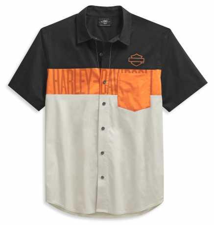 H-D Motorclothes Harley-Davidson Pocket Shirt Moonstruck Colorblock  - 99028-21VM