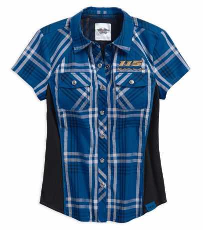 H-D Motorclothes Harley-Davidson Damen Shirt 115th Anniversary, kariert  - 99046-18VW
