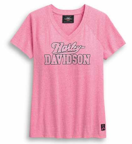 H-D Motorclothes Harley-Davidson Damen T-Shirt Pink Label V-Neck  - 99054-20VW