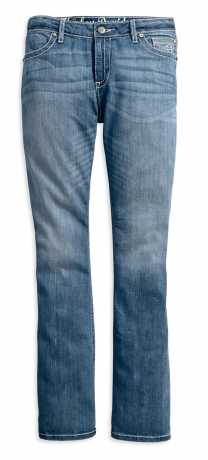 H-D Motorclothes H-D Curvy Boot Cut Embellished Flap Mid-Rise Jeans  - 99056-18VW