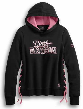 H-D Motorclothes Harley-Davidson Damen Hoodie Pink Label Side-Laced XL - 99066-20VW/002L