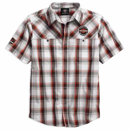 H-D Motorclothes Men's Genuine Oil Can Plaid Shirt 5XL - 99067-18VM/052L