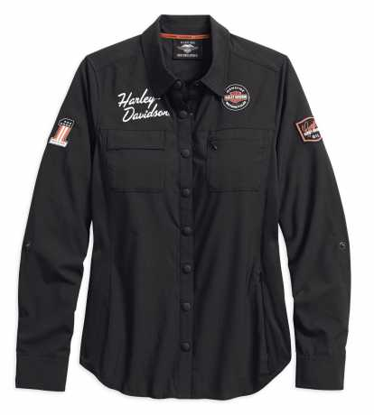 H-D Motorclothes Harley-Davidson Women's Performance Fast Dry Vented Classic Shirt  - 99076-18VW