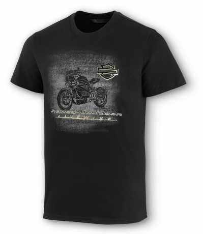 H-D Motorclothes Harley-Davidson T-Shirt LiveWire schwarz  - 99077-20VM