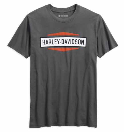 H-D Motorclothes Harley-Davidson T-Shirt Stacked Graphic, grau S - 99078-18VM/000S