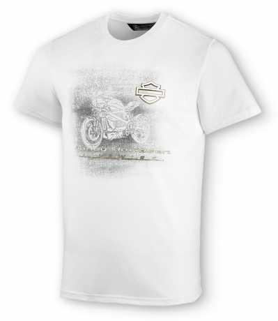 H-D Motorclothes Harley-Davidson T-Shirt LiveWire white  - 99078-20VM