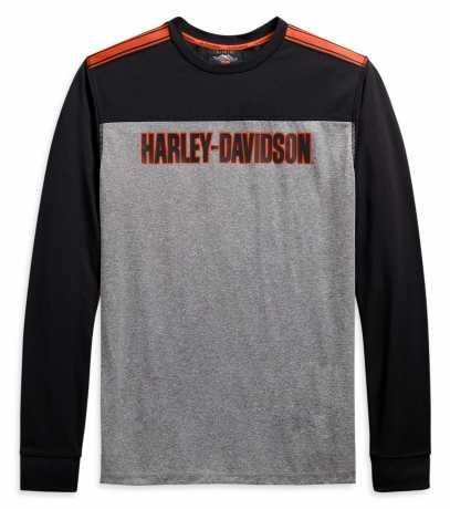 H-D Motorclothes Harley-Davidson Longsleeve Performance Micro Mesh Colorblock  - 99086-20VM