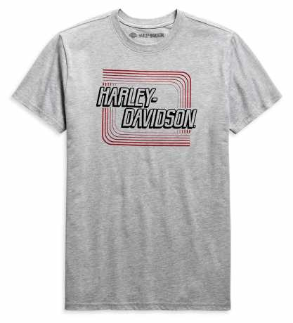 Harley-Davidson T-Shirt Retro Outline grau