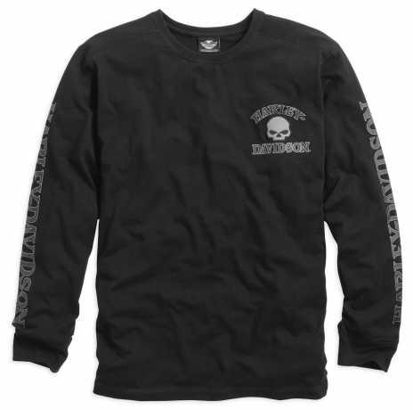 H-D Motorclothes Harley-Davidson Skull Long Sleeve Tee, black 4XL - 99091-14VM/042L
