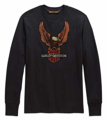H-D Motorclothes Harley-Davidson Longsleeve Vintage Eagle black M - 99098-20VH/000M