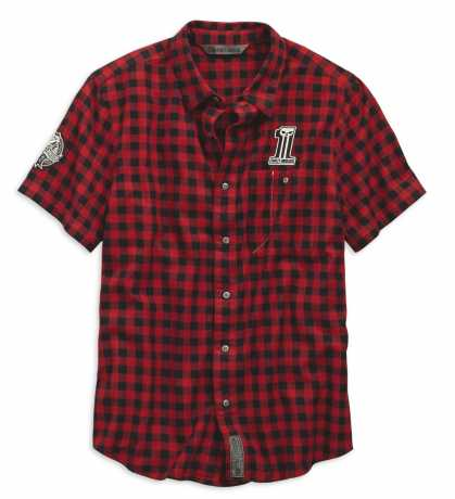 Harley-Davidson Karohemd Checked Plaid kurzarm 3XL