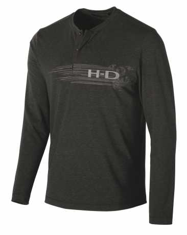 H-D Motorclothes Harley-Davidson Henley Shirt Merino Wool Blend  - 99149-19VM