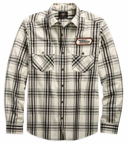 H-D Motorclothes Harley-Davidson Racing Long Sleeve Plaid Shirt XL - 99162-19VM/002L