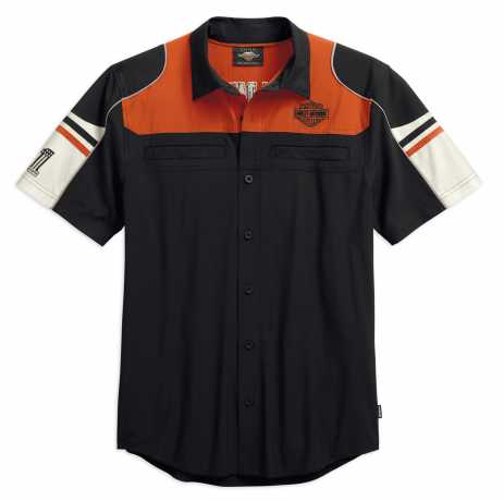 H-D Motorclothes Harley-Davidson Kurzarmhemd Performance Colorblock Coolcore  - 99189-19VM
