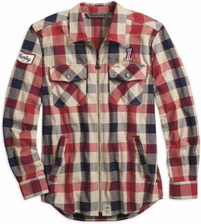 Harley-Davidson Shirtjacket #1 Plaid Zip