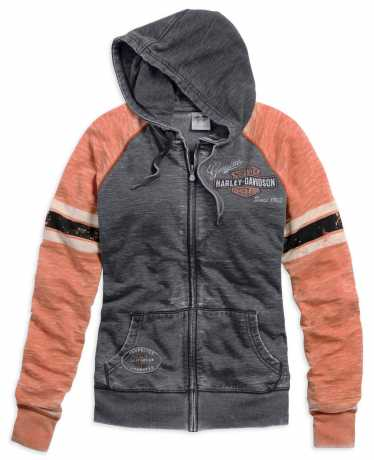 H-D Motorclothes Harley-Davidson Genuine Oil Can Burnout Hoodie 2XL - 99195-14VW/022L