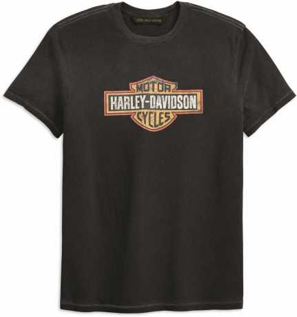 H-D Motorclothes Harley-Davidson T-Shirt Crackle Bar & Shield dunkelgrau  - 99201-19VM
