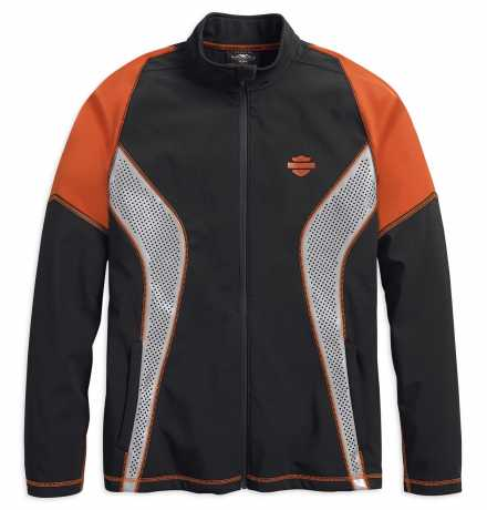 H-D Motorclothes Mens Colorblocked Performance Soft Shell Jacket  - 99216-19VM