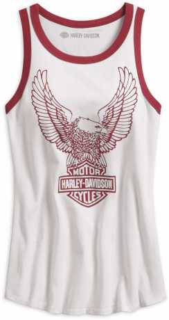 Harley-Davidson Tank Top Retro Eagle white 2XL