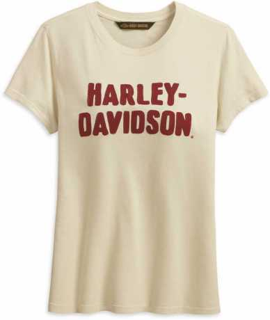 H-D Motorclothes Harley-Davidson Women´s T-Shirt Chain Stitched antique white  - 99232-19VW