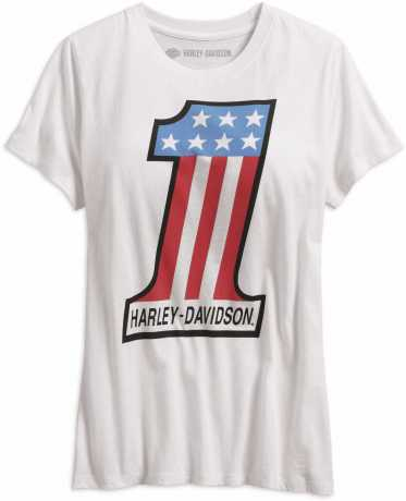 H-D Motorclothes Harley-Davidson Women´s T-Shirt Retro #1 white  - 99238-19VW