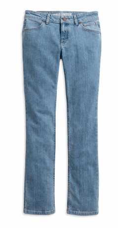 H-D Motorclothes Harley-Davidson Damen Straight Leg Mid-Rise Jeans  - 99244-19VW