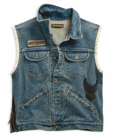 Men's Blowout Slim Fit Denim Vest