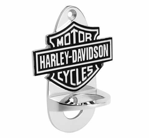99333 08v Harley Davidson Bottle Opener Wall Mount Chrome
