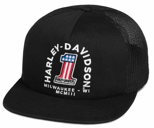 H-D Motorclothes Harley-Davidson Trucker Cap #1  - 99400-20VM