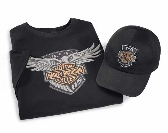 H-D Motorclothes Harley-Davidson 2-teiliges Ride Pack 115th Anniversary  - 99405-18VM2
