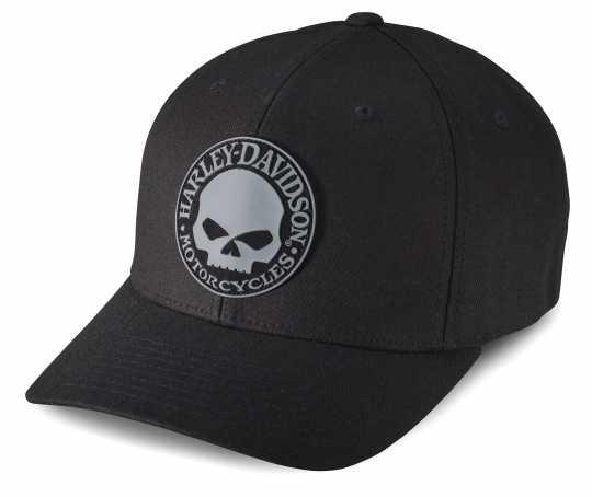 H-D Motorclothes Harley-Davidson Baseball Cap Rubber Skull black S - 99409-16VM/000S