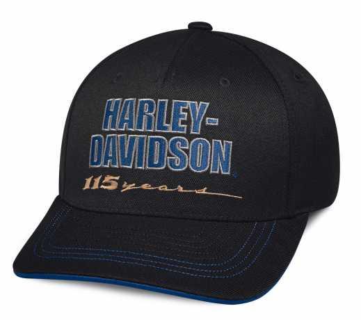 H-D Motorclothes Harley-Davidson Baseball Cap 115th Anniversary  - 99409-18VM